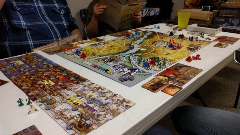 Gaming With The Guys…Kemet