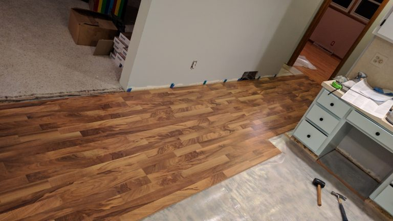 Let The Flooring Begin
