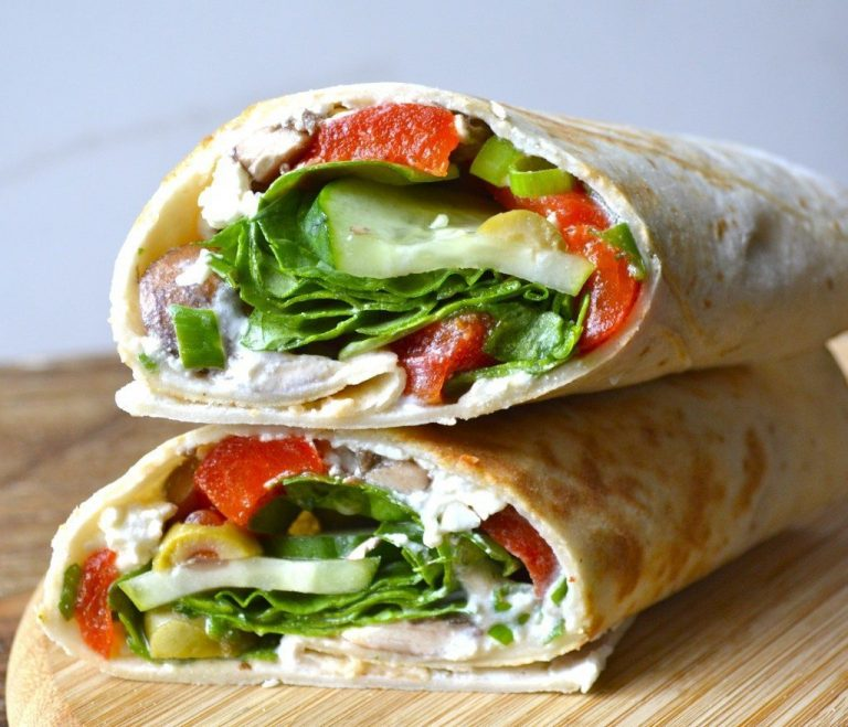 Always On The Lookout For New And Healthy Recipes – Greek Wrap
