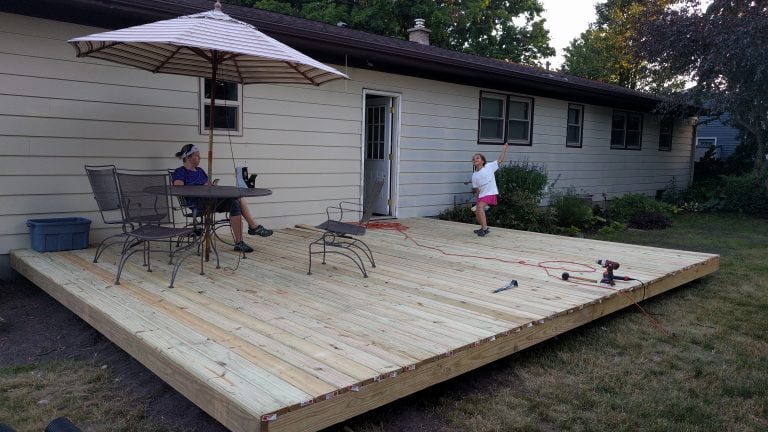 Hard Working Weekend, Deck Progress Was Made
