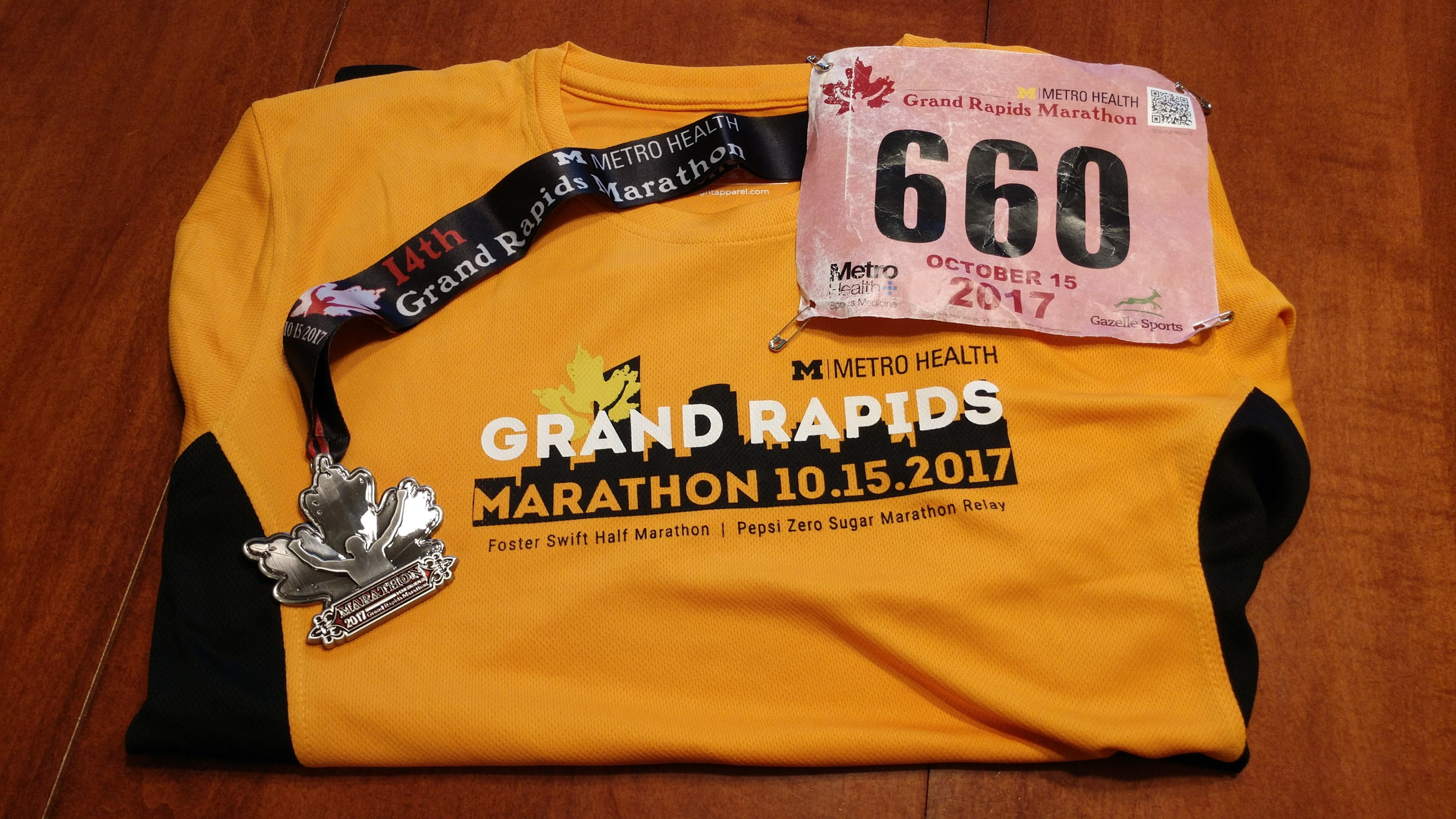 Completed My First Marathon…