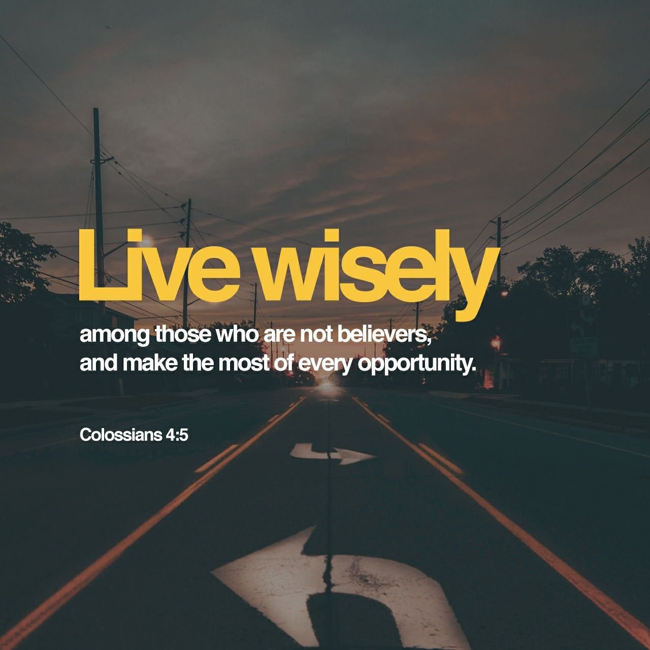 Colossians 4:5‭-‬6 NLT