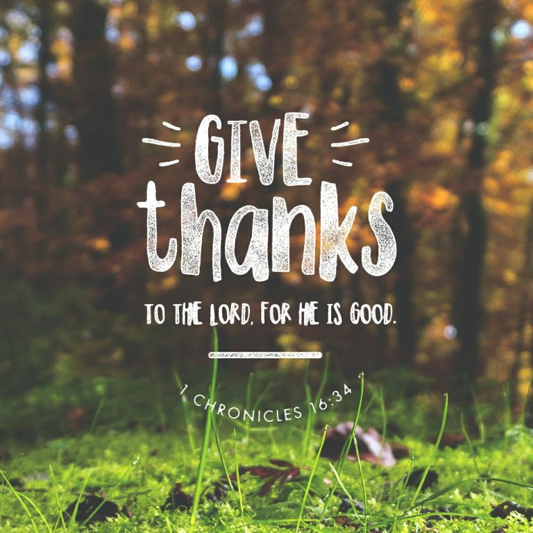 Giving Thanks Even Through The Tough Times