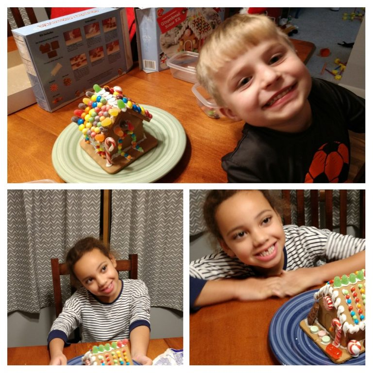 Gingerbread Houses With The Kids