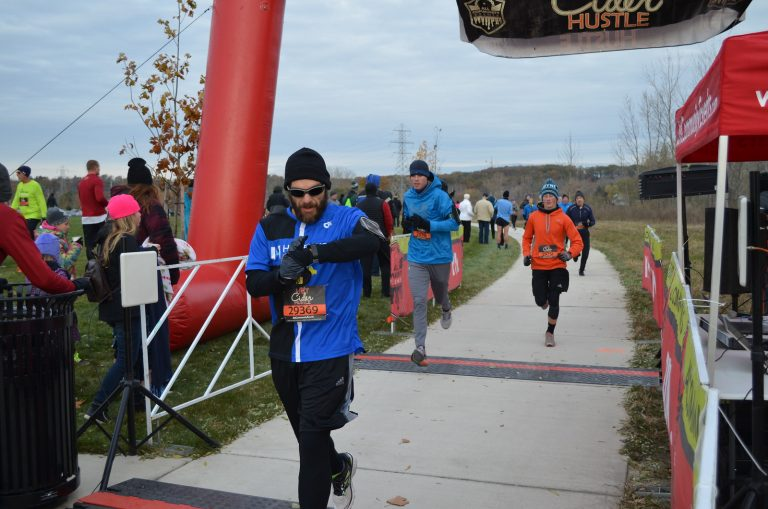 Ran The Hot Cider Hustle – Grand Rapids 5K