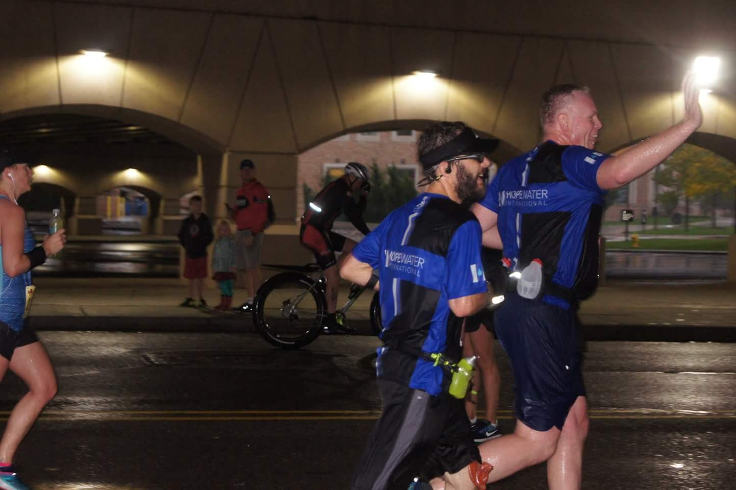 Beginning Miles at the 2017 Grand Rapids Marathon