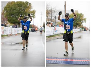 Grand Rapids Marathon 2017 - Finish Line