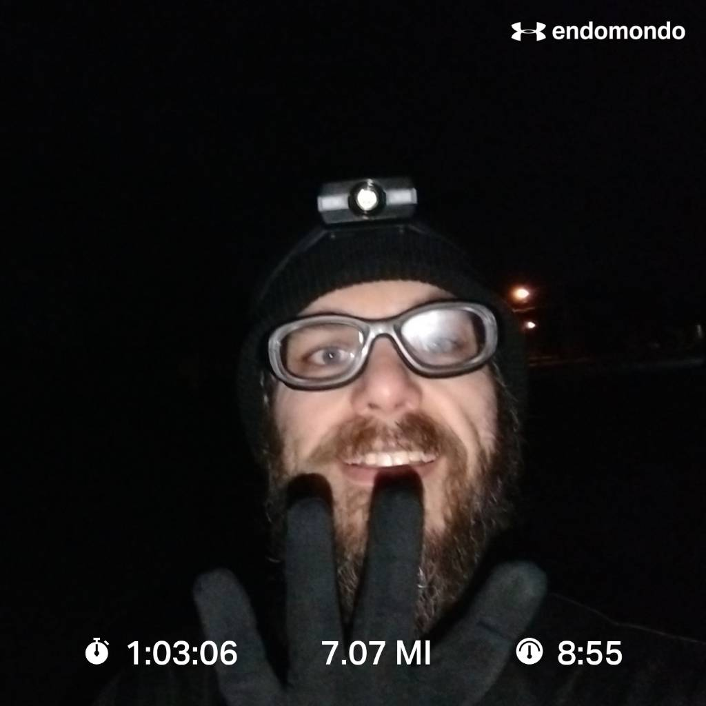 7 Miles A Day Challenge – Day 4 Complete