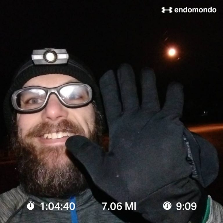 7 Miles A Day Challenge – Day 5 Complete