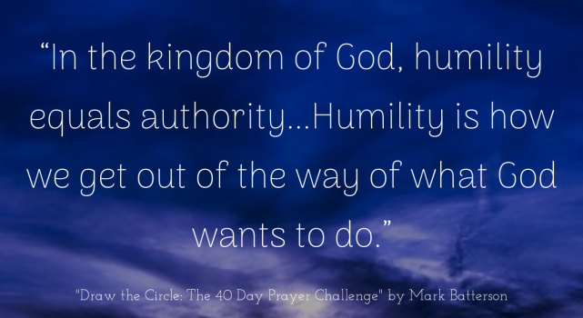 Humility = Authority