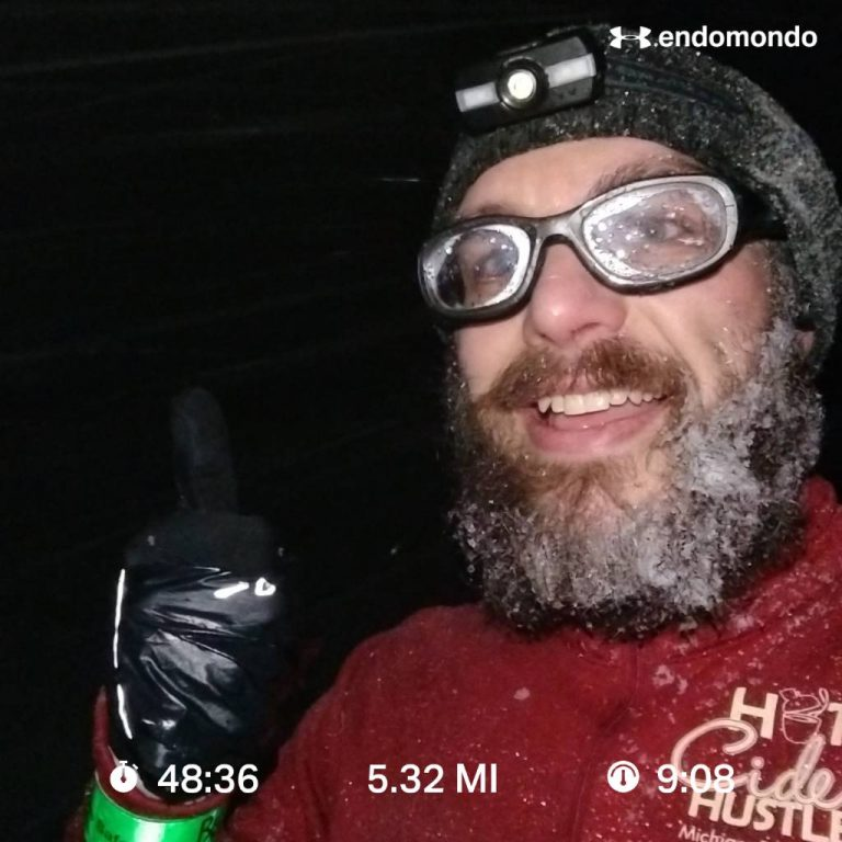 April Snow And Frosty Beard