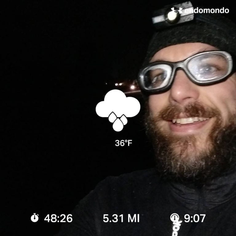 Running In The Rain, Not My Preference