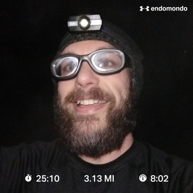 Short Run Felt Strange But Got Some Good Speed Work Done