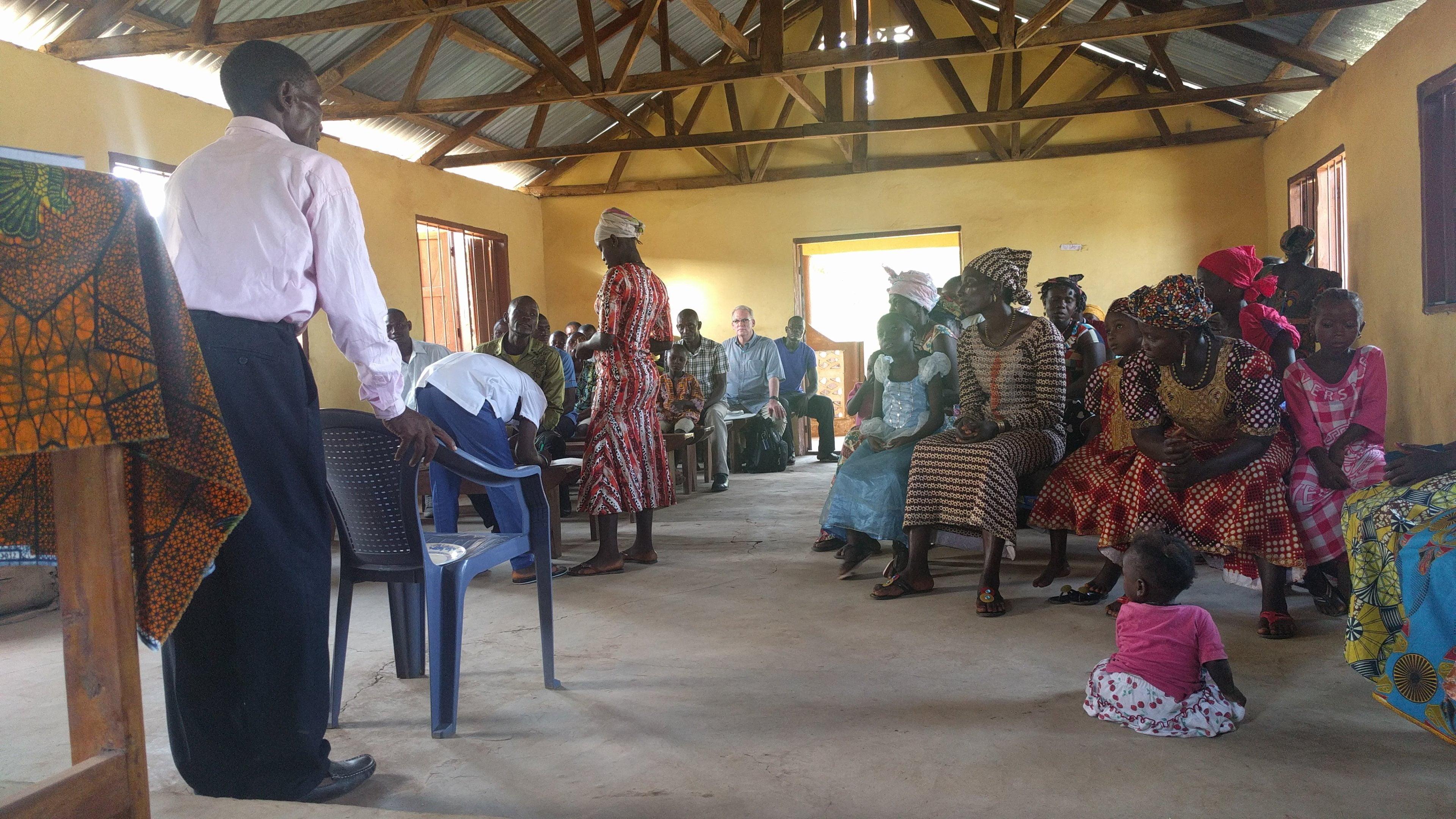 A Verse That Describes The Church In Kathirie Sierra Leone