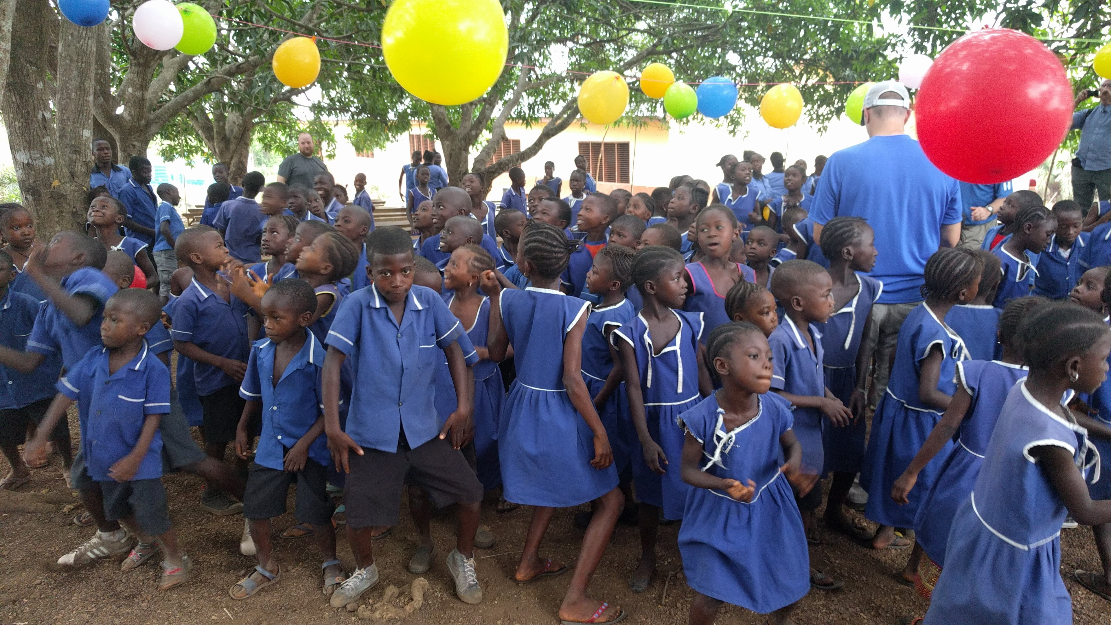 Day Camp in Kathirie, Celebration And Sharing The Love