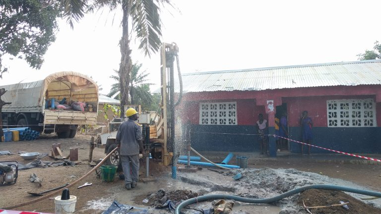 New Well in Waterloo, Traveling to Freetown