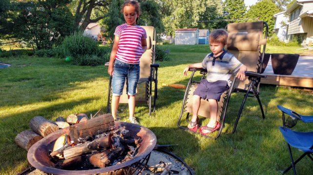 First Campfire of Summer 2018