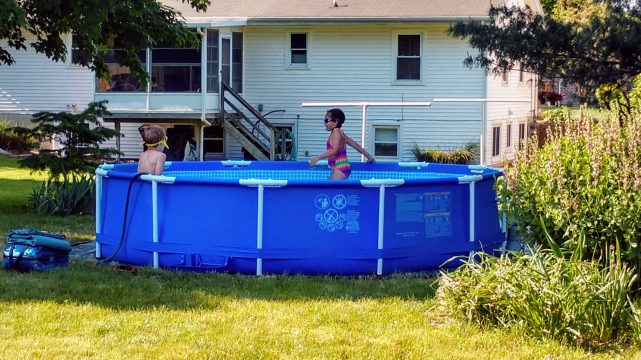 Pool Is Now Open For The Summer