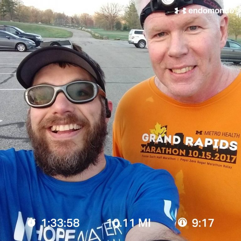 Early Morning 10 Miles With My Running Partner