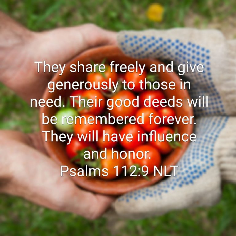 The True Spirit of Generosity is a Lifestyle