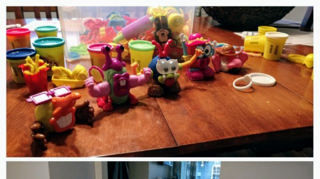 Playing With Play-Doh On Boys Night