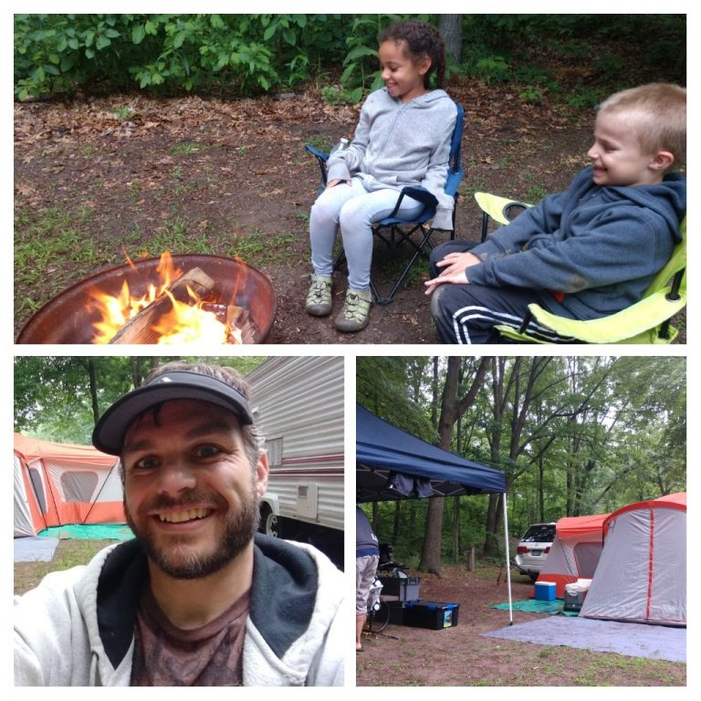 First Weekend Camping – Summer 2018