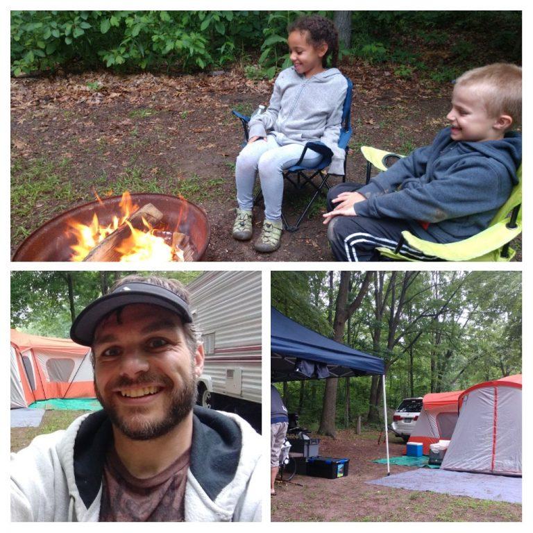 First Weekend Camping – Summer 2018