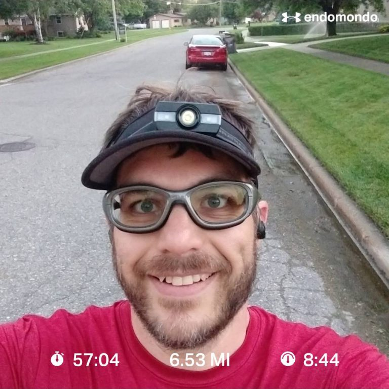 Running 6 Miles And Feelin' Fine