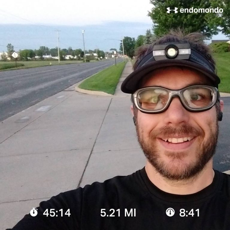 Getting My Butt Out Of Bed And Hitting The Pavement