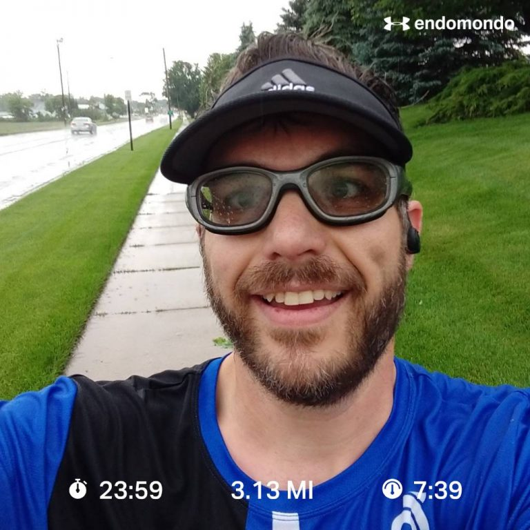 Wet 5K After Race Was Cancelled
