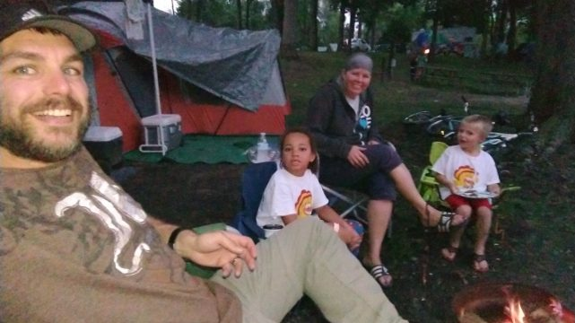 Making The Best Of A Rainy Weekend Camping At Jellystone, Fremont-IN