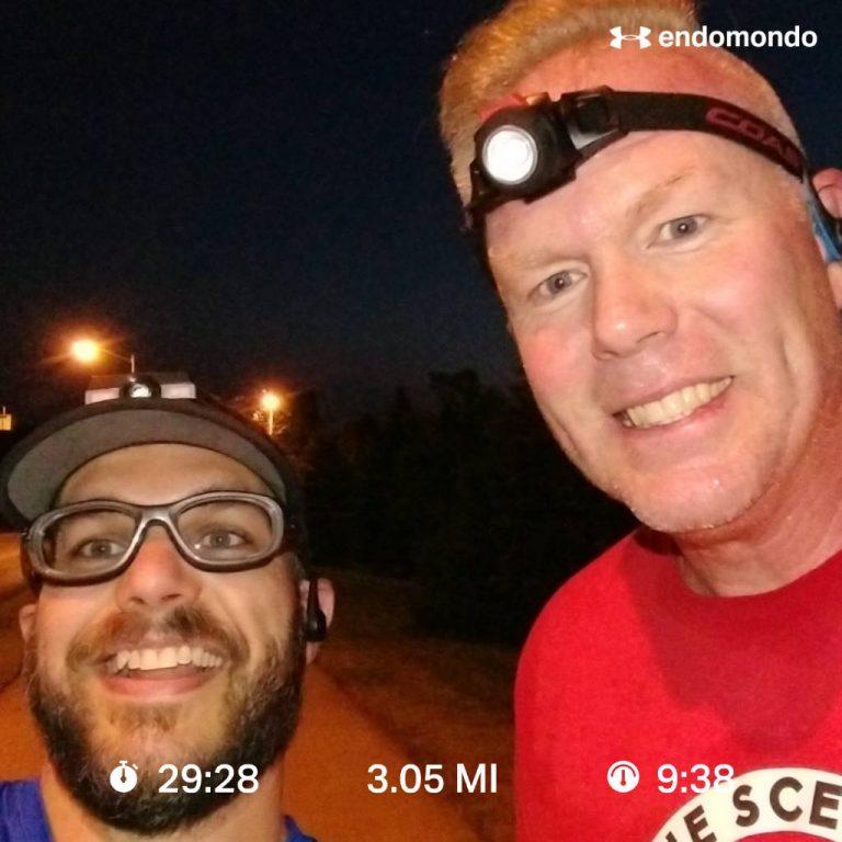 Back Running With Big John