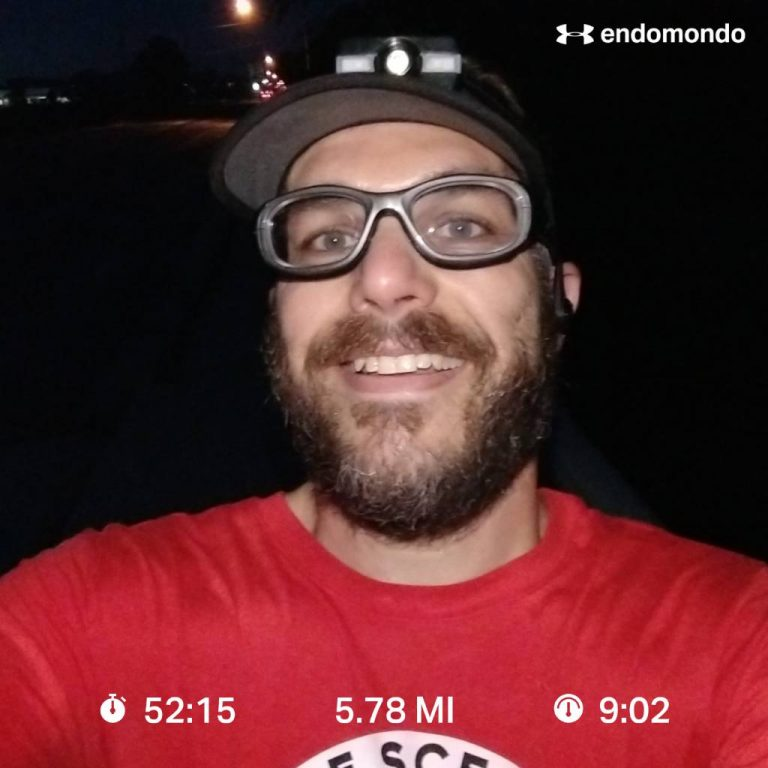 Running And Giving Thanks