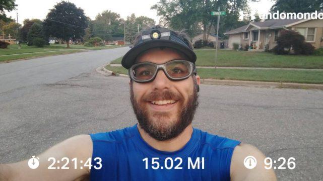 Struggling Through A Solo 15 Miles Training Run