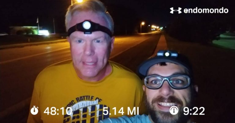 First 5 Mile Thursday Training Run Together This Season