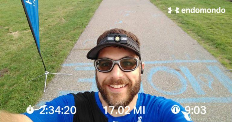 Getting It Done, 17 Mile Marathon Training Run