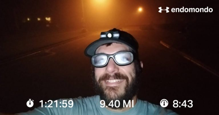 Foggy Extended Run, Reminder, Don't Forget The Nip Guards