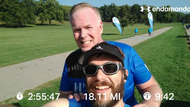 Knocking Out A Hot 18 Miles