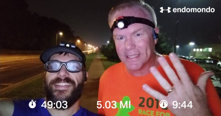 Another Easy 5 Mile Training Run, And The GR Marathon Is Not Too Far Off