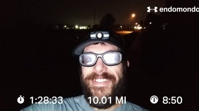 10 Mile Hard Run, In More Ways Than One