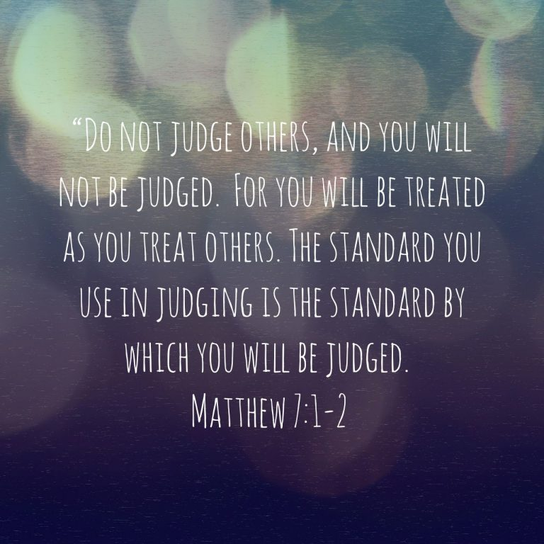 Devotions for Sacred Parenting #25: Stop Judging and Start Loving