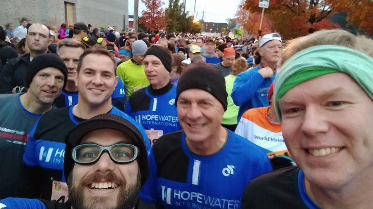 Completing My 2nd Marathon, The Grand Rapids Marathon With Hope Water International