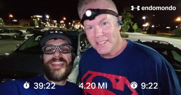 Getting A Little Warmer 4 Mile Training Run Done