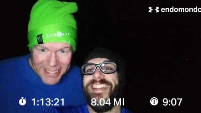 Last Long Run Before The Marathon, Getting It Done On A Cold Early Morning