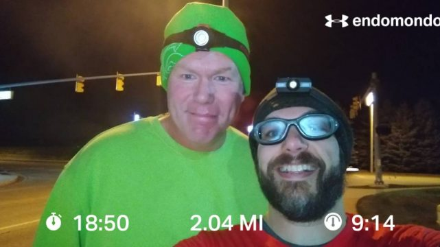 Finishing The 2018 Grand Rapids Marathon Training