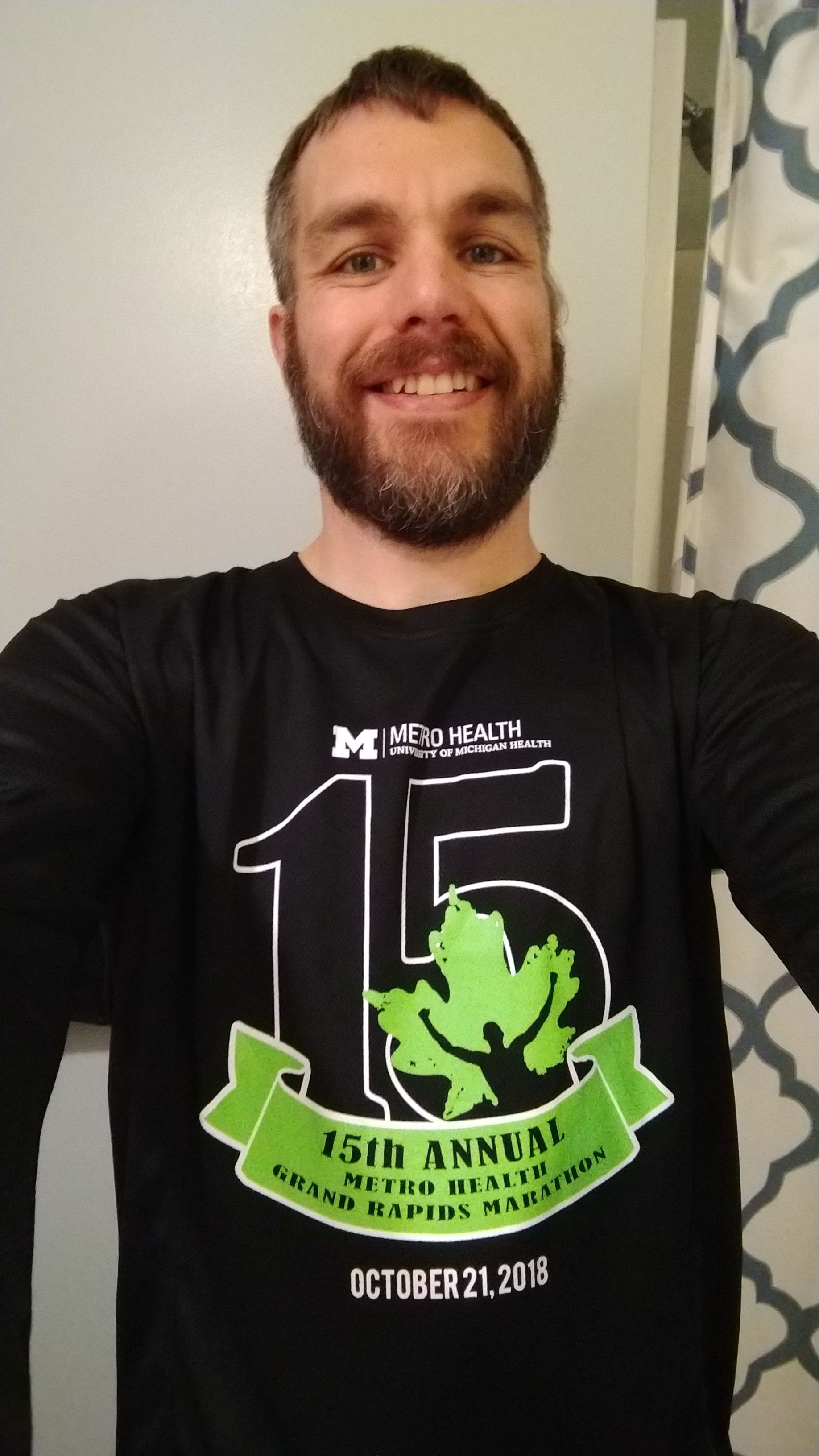Day Before The Big Run, Grand Rapids Marathon 2018