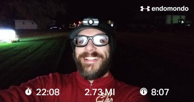 Pushing Through An Intense Speed Test Run