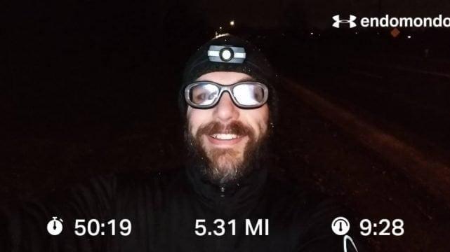 Embracing The Winter Run