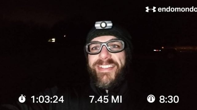 Thanksgiving Training Run