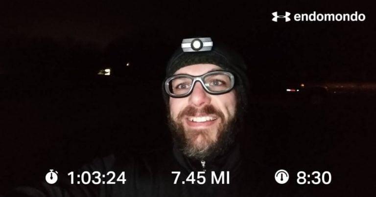 Thanksgiving Training Run